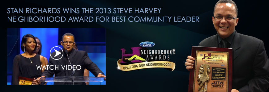 "2013 ""Best Community Leader"" Award Recipient"